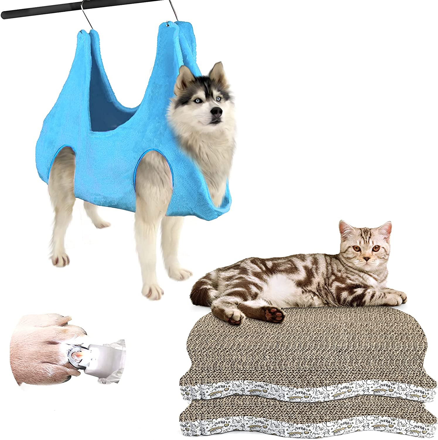 Dog Nail Harness Hanging L Size Purchase Pad Animer and price revision Cat N 2 Scratcher Pack