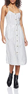 Only Onlluna Strap Stripe DNM Dress Qy T Noos Vestito Donna
