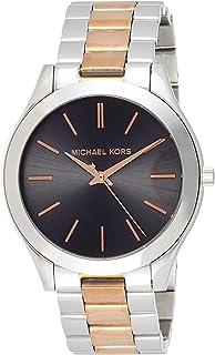 Michael Kors Womens Quartz Watch, Analog Display and Stainless Steel Strap MK3713