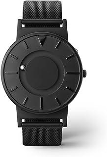 【イワン】 EONE BRADLEY TIMEPIECE STEEL MESH イワンブラッドリータイムピーススチールメッシュ (Black) [並行輸入品]