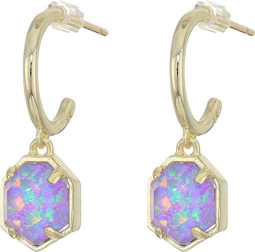 Gold/Violet Opal Illusion