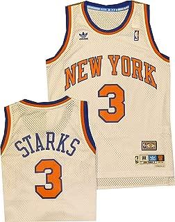 New York Knicks John Starks Swingman White Jersey