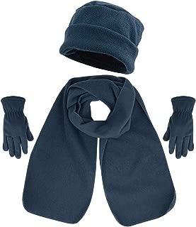 3 Piece Hat, Scarf & Glove Women's Winter Set