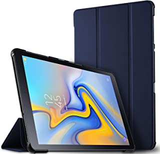 Luibor Estuche Tableta Samsung Galaxy Tab A 10.5 2018 SM-T590/SM-T595 - Estuche Cubierta Elegante Delgado Estuche de Piel Ultra Ligero Tableta Samsung Galaxy Tab A 10.5 2018 SM-T590/SM-T595 (Azul)