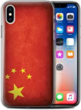 Stuff4®Phone Case/Cover/Skin/IP-gc/Flags Collection Chine/Chinois Apple iPhone XS