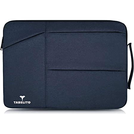 Tabelito Laptop Sleeve Case Cover for 15.6-Inch Laptop MacBook, Protective (Blue)