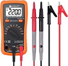 Neoteck 6000 Counts TRMS Auto Ranging Digital Multimeter, Multimeter Tester with NCV AC/DC Voltage Current Resistance Capacitance Continuity Frequency for Laboratory Factory and other Social Fields