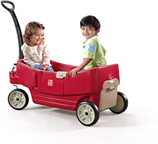 Step2 All Around Wagon For Kids , Red 727700