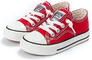 Amazon.com: Girls' Sneakers - Red