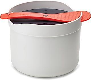Joseph Joseph M-Cuisine Microwave Rice Cooker, Orange/Beige, (45002),Multi