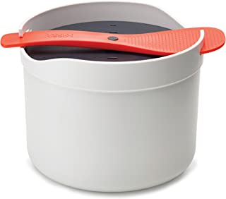Joseph Joseph M-Cuisine Microwave Rice Cooker, Orange/Beige, (45002)