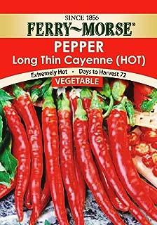 Ferry Morse Long Thin Cayenne Pepper Seeds
