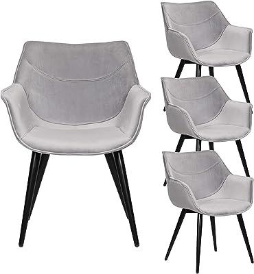 Design ergonomico Sedie da Pranzo Confortevoli per Soggiorno ...