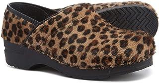 Sanita Professional Limited Edition Leopard Pattern Clogs