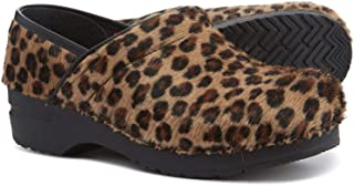 Professional Limited Edition Leopard Pattern Clogs