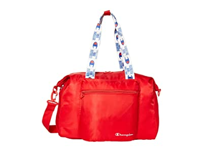 Champion LIFE Cadet Tag Duffel (Red/White) Duffel Bags