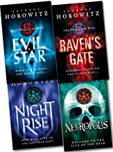 The Power of Five 4 Books Collection Set Anthony Horowitz (Raven's Gate, Evil Star, Night Rise, Necropolis) (Power of Five)