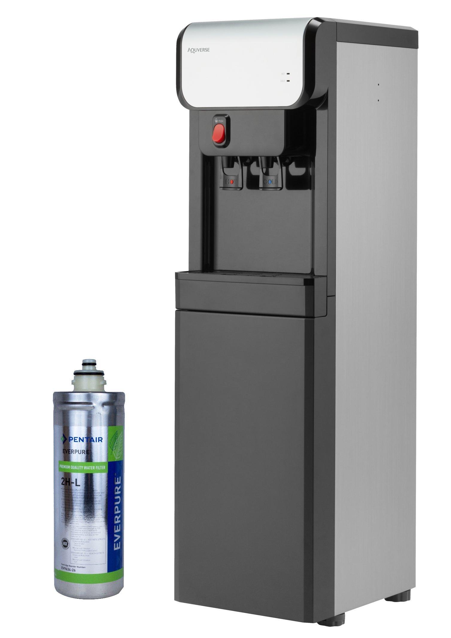 Aquverse A6500 K Bottleless Install Stainless