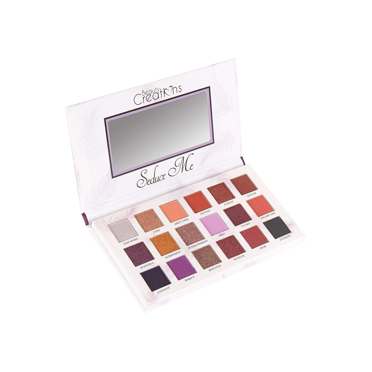尊敬する早い文庫本(3 Pack) BEAUTY CREATIONS Seduce Me Eyeshadow Palette (並行輸入品)