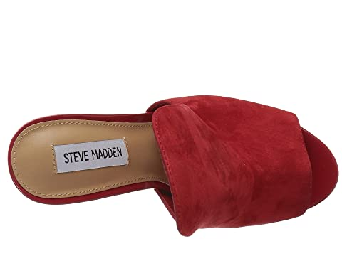 Suede Madden Steve Sinful Steve Red Madden OXwHqH