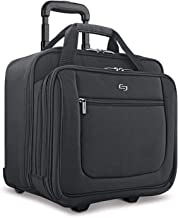 Solo New York Bryant Rolling Bag with Wheels, Fits Up to 17.3-Inch Laptop, Black,..