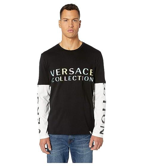 Versace Collection Girocollo ML Regolare T-Shirt