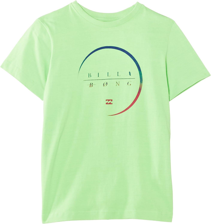 Billabong T-Shirt Radius Short Sleeve Boy - Camisa de bolos ...