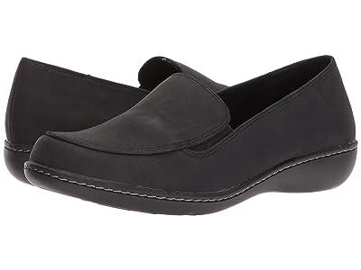 Soft Style Jaylene (Black Nubuck) Women