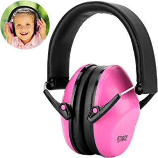 Baby Ear Muffs, FITNATE Safety Infant Ear Protection, NRR26, SNR29 Professional Noise Reduction Adjustable Head Band Ear Defenders for Babies, Toddles and Kids (Pink),with Dustproof Bag