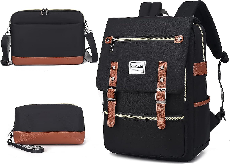 CADYWOLF Laptop Backpack - Waterproof Backpack USB Port - Casual Backpack - 30L
