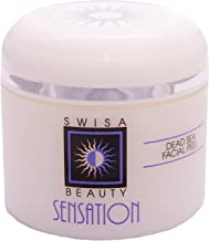 Swisa Beauty Dead Sea Facial Peel - Anti-Aging and Hydrating Aloe Vera-Based Treatment, 1.7oz
