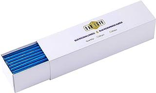 Danilovo Bienenwachs Kerzen Blau - Orthodoxe Kerzen für Gebet Rituals Tischdeko - Ungiftig, Ruß - Tropffrei, Lang, Nachhaltige Produkte 50, Höhe 18,5 cm