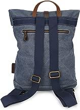 FEN-GZD Canvas Backpack Leisure Travel Bag Student Shoulder Bag Retro College Wind Unisex Fashion Gift