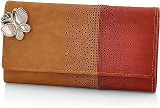 Butterflies Tan Women's Wallet (BNS 2391TN)