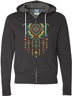 Native American Necklace Zip-Up Hoodie