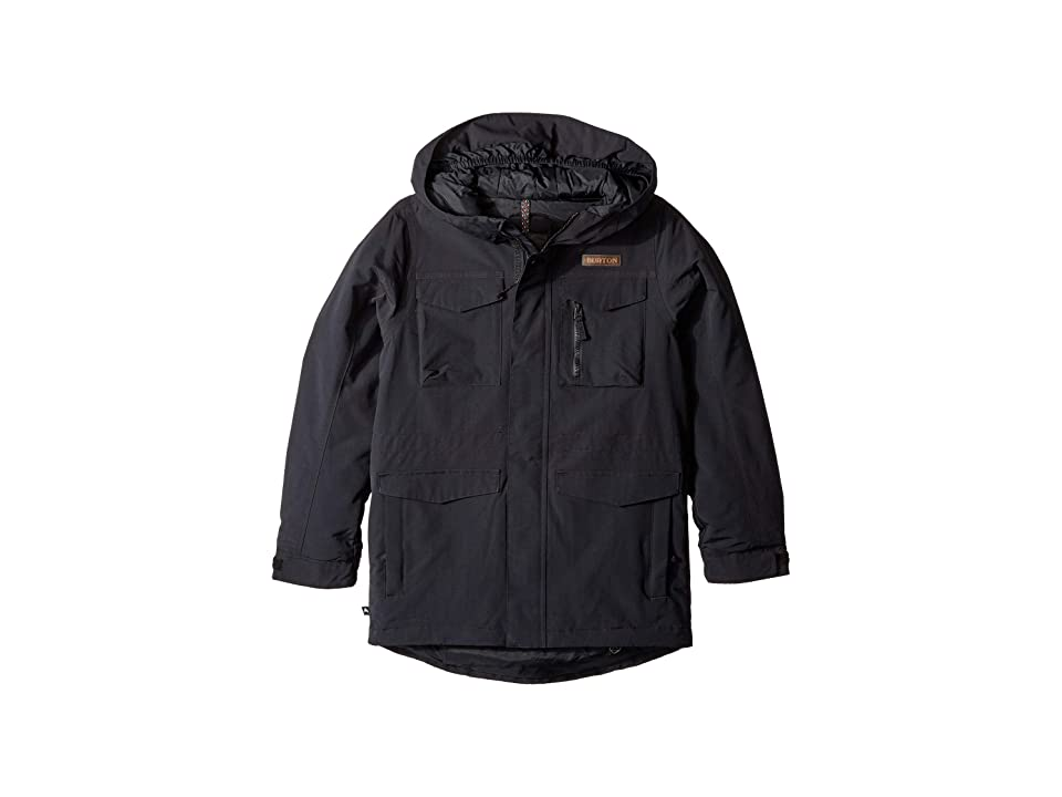 Burton Kids Covert Jacket (Little Kids/Big Kids) (True Black) Boy