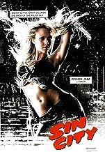 Pyramid America Frank Millers Sin City Jessica Alba as Nancy Callahan Sexy Movie Cool Wall Decor Art Print Poster 24x36