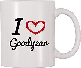 I Love Goodyear kaffemugg (