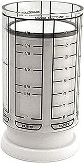 KitchenArt 23210 1 Cup Adjust-A-Cup, Plastic, White