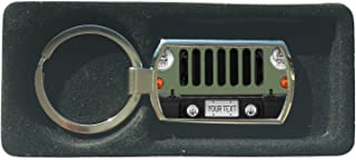 BRGIftShip Customize Your Own SUV Bumper Car Grill Green License Plate Metal Keychain