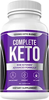 Sponsored Ad - Complete Keto Pills 1200mg - Complete Ketogenic Diet for Beginners - Keto Complete Diet Pills - BHB Supplem...