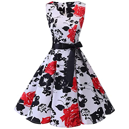 Red Black And White Dress Amazon