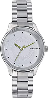 Fastrack Tropical Fruits Analog White Dial Women's Watch-6203SM01