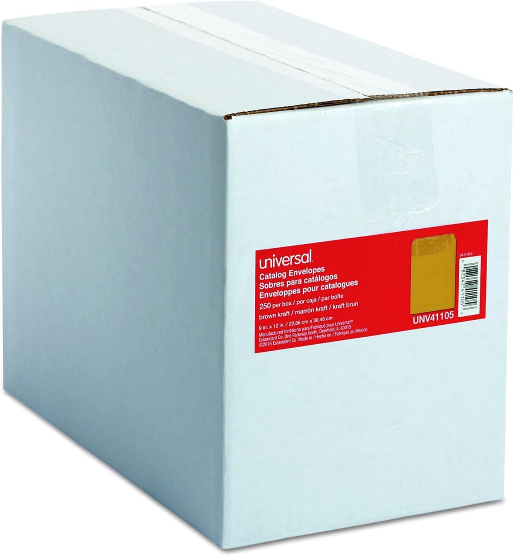 Universal Katalog Umschlag, Center Naht, 22,9 cm X 12, hellbraun, 250 Box (41105) B0017LV622 | Hat einen langen Ruf