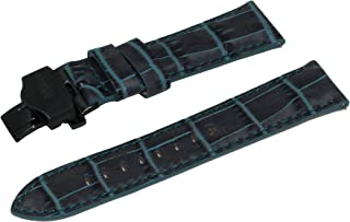 SWISS REIMAGINED Choice of Colors Quality Genuine Leather Watch Band Strap