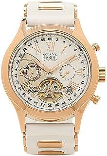 [ゾンネ] メンズ 腕時計 SONNE H016PG WH ホワイト ピンクゴールド [並行輸入品]