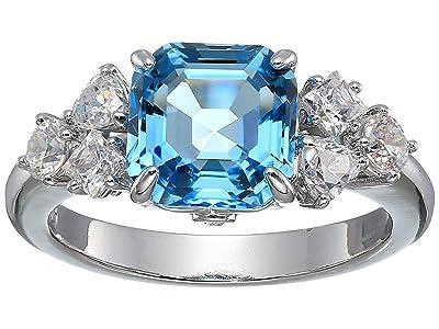 Swarovski Sparkling Ring (Aquamarine) Ring