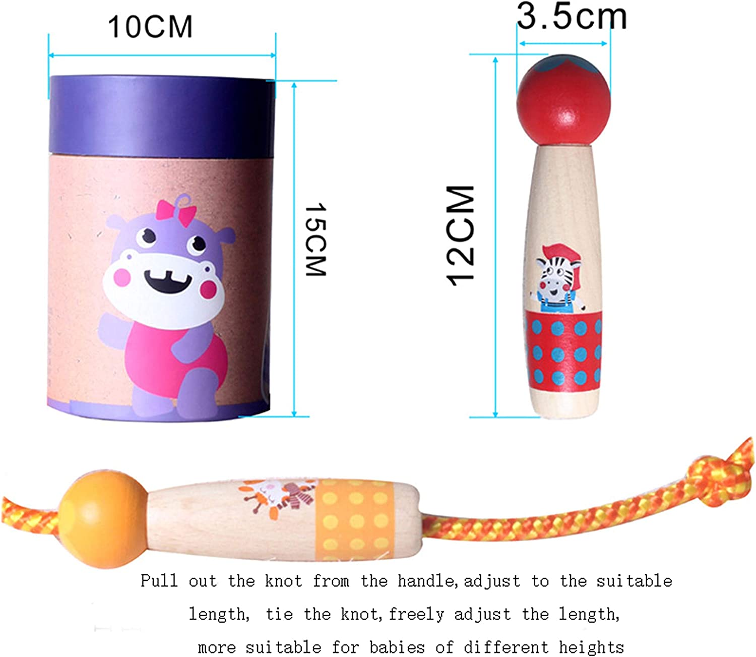n a Jump Rope Workout Cute Box Skipping Rope 1 Pack Adjustable Rope Length
