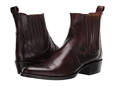 Frye Grady Chelsea (Whiskey Smooth Pull-Up) Men