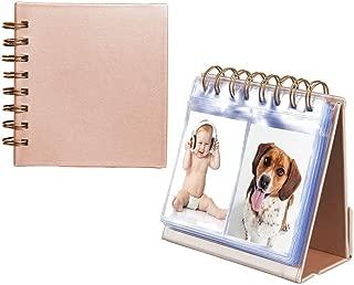 Photo Album for HP Sprocket and Polaroid Zip Instant Printer, 64-Pocket Photo Album fit for Polaroid 2x3 inch Premium Zink Photo Paper, Portable 3-inch Desk Calendar Picture Holder